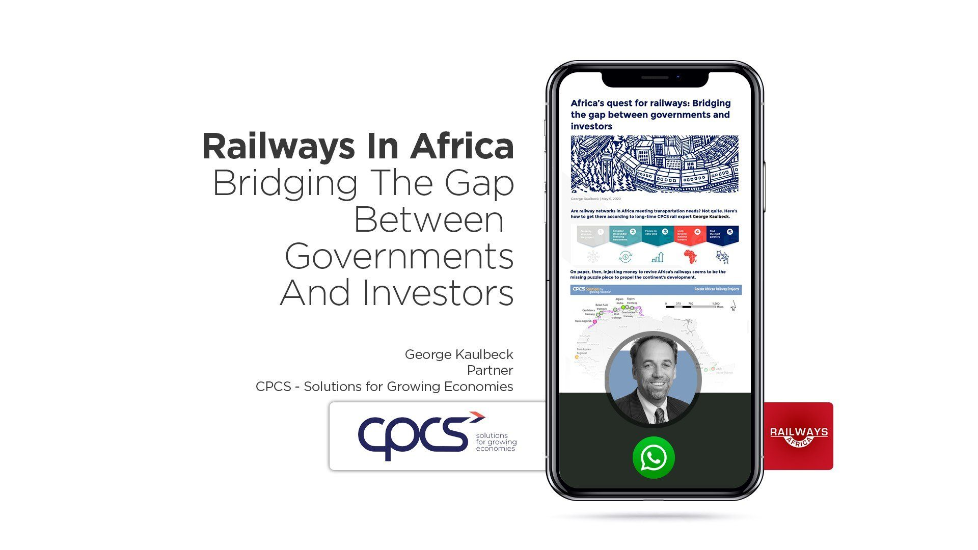 Railways In Africa – Bridging The Gap Between Governments And Investors